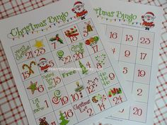 Excellent Christmas game-The kids will love using Hershey Kisses or M&M's as the playing pieces. At School or home