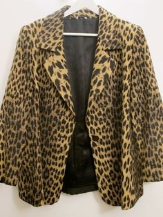 Leopard print jacket at Indie 78
