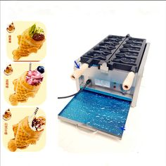 569.00$  Watch here - http://aliw2m.worldwells.pw/go.php?t=32372457878 - Fish cake machine home use non-stick fish cake baking machine ice cream fish cake holder making machine