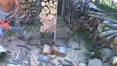 2 in 1 chainsaw horse and log holder