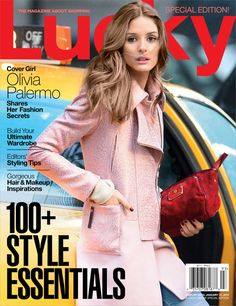 The Olivia Palermo Lookbook : Olivia Palermo For Lucky Magazine