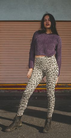 Animalskin leopard print women leggings Indie Clothing Brands, Athleisure Outfits, Indie Outfits, Women's Leggings, Mercury, Street Wear, Trending Outfits, How To Make, Dresses