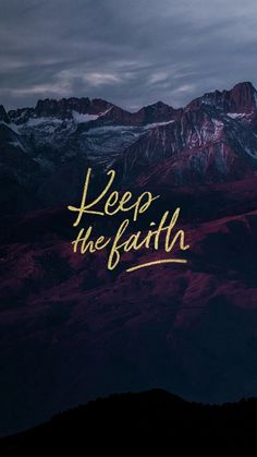 Bible Verses About Faith: keep the faith Faith Hope Love, Faith In God, Christian Life, Christian Quotes, Images Bible, Bible Verse Wallpaper, Bible Verses Quotes, Scriptures, God First
