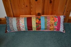 Liz's (very belated) birthday draught excluder :)