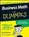 Business Math For Dummies:Book Information - For Dummies