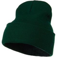 5c9a8700435 Amazon.com  12 Inch Long Knitted Beanie - Aqua OSFM  Clothing. Beanie Hats  ...