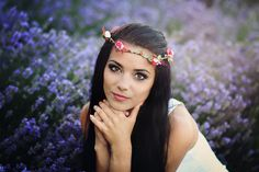 lavender portrait by Теди Димитрова