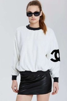 Vintage Chanel Lagny Sweatshirt | Shop What's New at Nasty Gal
