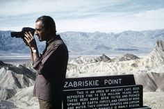 Italian director Michelangelo Antonioni during the filming of Zabriskie Point, California, 1968. © Bruce Davidson / Magnum Photos