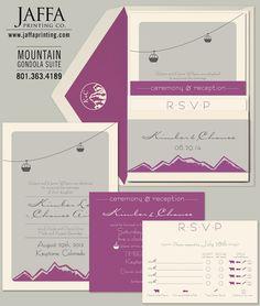 Wedding Invitation Blog: Search results for mountain invitation
