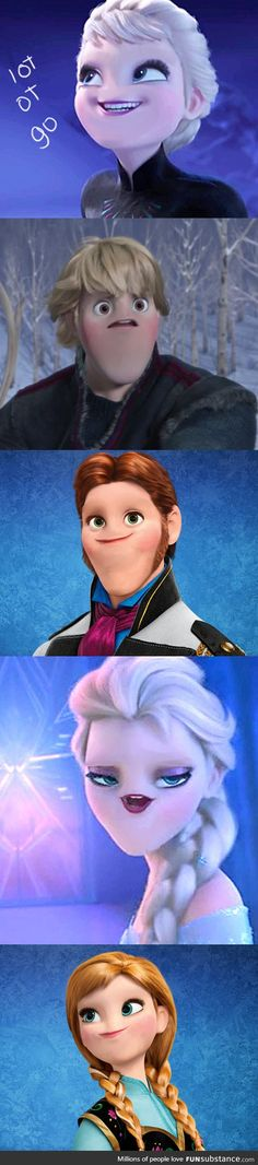 Funny pictures about The 'no nose' trend strikes again. Oh, and cool pics about The 'no nose' trend strikes again. Also, The 'no nose' trend strikes again. Disney Jokes, Funny Disney Memes, Funny Memes, Hilarious, Disney And Dreamworks, Disney Pixar, Walt Disney, Disney Characters, Disney Frozen
