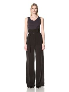 65% OFF Ann Demeulemeester Women\'s Victor Trousers (Black)