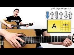Como tocar guitarra RITMO de Rumba fácil - YouTube