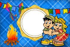 Convite, Moldura e Cartão Festa Junina: