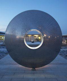 Torus outdoor sculpture
