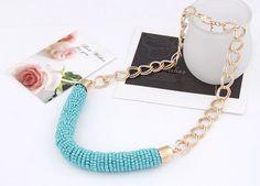 Naszyjnik koraliki Silvona #naszyjniki #SztucznaBiżuteria