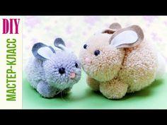 ❤ DIY Pompom bunny - easy Easter yarn craft for kids ❤Mindy - craft idea & DIY tutorial collection Yarn Crafts For Kids, Bunny Crafts, Easter Crafts For Kids, Easy Crafts, Diy And Crafts, Kids Diy, Decor Crafts, Pom Pom Tutorial, Flower Tutorial