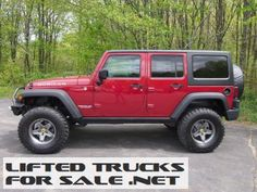2012 Lifted Jeep Wrangler Unlimited Rubicon