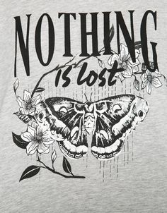Maglietta stampa 'Midnight/Nothing' - T- Shirts - Bershka Italy