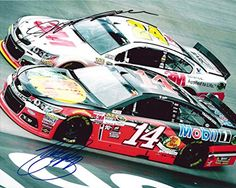 cool 2X AUTOGRAPHED Jeff Gordon & Tony Stewart 2015 Brisol Motor Speedway (On-Track Racing) 8X10 Signed Picture NASCAR Glossy Photo with COA
