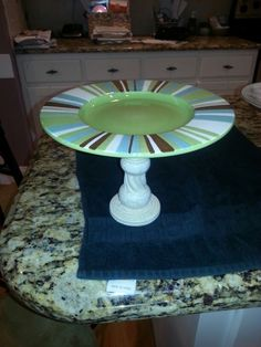 Plate and vase creation
