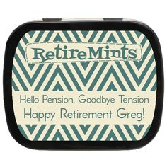 Hello pension, say goodbye to tension! #retirement #favors