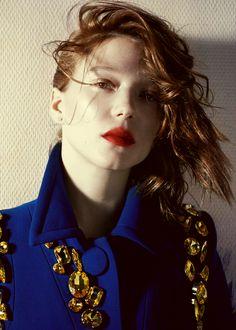 Lea Seydoux for Vogue Italia (February 2014)