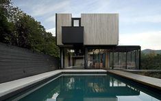 Saucier Perrotte modern architecture house design.  pics, no plan