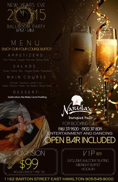 What are you doing this New Year Eve? Check this out :  http://newyearhamilton.ca/