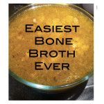 Low Carb Recipes To The Prism Weight Reduction Program The Easiest Bone Broth Recipe Ever - Ancestral Nutrition Slow Cooker Recipes, Paleo Recipes, Low Carb Recipes, Crockpot Recipes, Real Food Recipes, Soup Recipes, Cooking Recipes, Recipies, Making Bone Broth