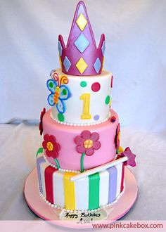 Image detail for -butterfly flower cake: mellos