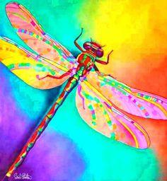 Psychedelic Dragonfly...lovin it!