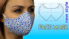 Easy Face Masks, Diy Face Mask, Dress Sewing Patterns, Sewing Patterns Free, Skirt Patterns, Coat Patterns, Blouse Patterns, Clothing Patterns, Sewing Hacks