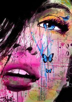 "Saatchi Art Artist Loui Jover; Drawing, ""days remembered"" #art"