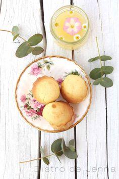Petites madeleines au mascarpone et vanille