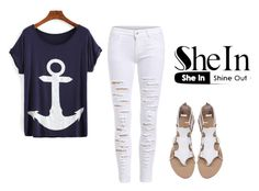 """""""#3/2 Shein"""" by ahmetovic-mirzeta ❤ liked on Polyvore featuring WithChic"""