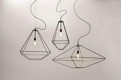 Design steel pendant lamp CON.TRADITION by Opinion Ciatti | design Sara Bernardi