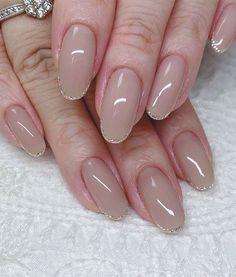 Cute Nail Art Design Ideas With Pretty & Creative Details : Nude nails