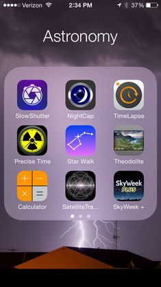 Amateur astronomy - 12 Best iPhone Astronomy and Astrophotography Apps You'll Use Constantly Astronomy Apps, Space And Astronomy, Astronomy Posters, Apps Für Iphone, Best Iphone, Space Facts, Space Exploration, Science And Nature, Life Science