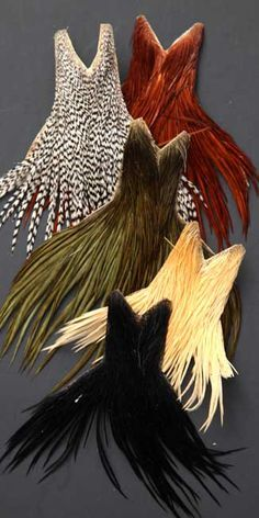 Whiting Dry Fly Capes | Dry Fly Capes | Rooster Capes. For more fly fishing…