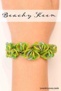 How to Make a Rainbow Loom Beachy Keen Bracelet