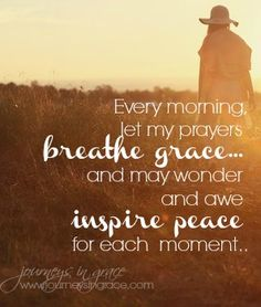 Breathing peace into