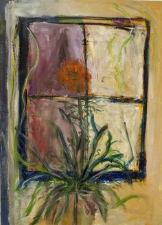 """Picasso Abstract Art Oil Painting Print On Canvas Decor/""""The Artist Estate/"""""""