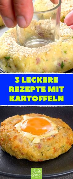 3 leckere Rezepte mit Kartoffeln – Alles rund um die Kartoffel: Backkartoffeln – Ofenkartoffeln – Grillkartoffeln – 3 delicious recipes with potatoes – all about the potato: baked potatoes – baked potatoes – grilled potatoes – potatoes Easy Smoothie Recipes, Easy Smoothies, Diet Recipes, Snack Recipes, Cooking Recipes, Easy Corn Fritters, Yummy Food, Tasty, Delicious Recipes
