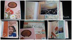 Pocket Album - DCWV Coral Couture (englisch)