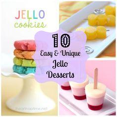 I love these Jello Desserts! Must try the Pretzel one again :)