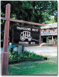 Traveler's Rest Historic Site near Toccoa