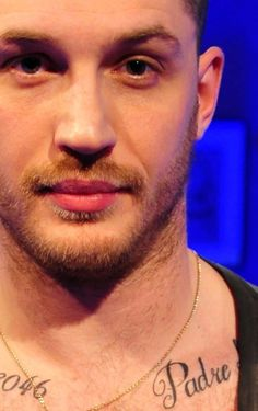 Close up of Tom on Chatty Man - tom-hardy Photo