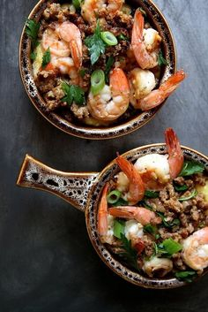 Prawns it makes this dish delicious