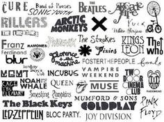 The bands i like are: the beatles, king of leon, the killers, coldplay, muse, queen, arctic monkeys, vampire weekend, phoenix. X)